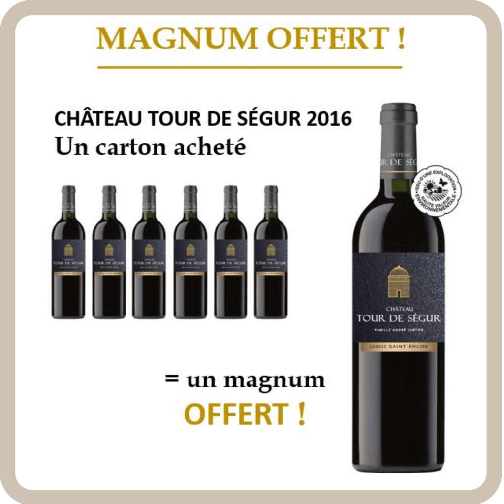 Bouteille vin Lurton